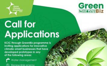 GreenBiz Program 2021 for Enterprises in Kenya