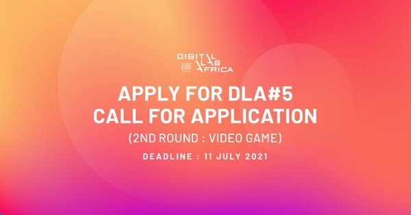 Digital Lab Africa 2021 for  digital content creation – Video Games.