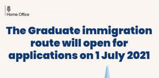 The Graduate Immigration Route for UK International Student graduates.