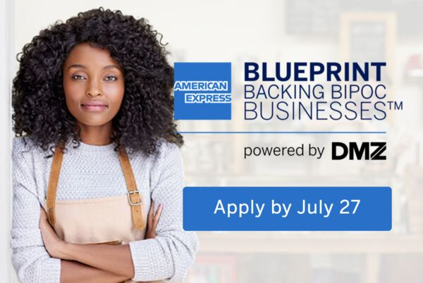 American Express Blueprint: Backing BIPOC Businesses Program 2021 [Canada Only]