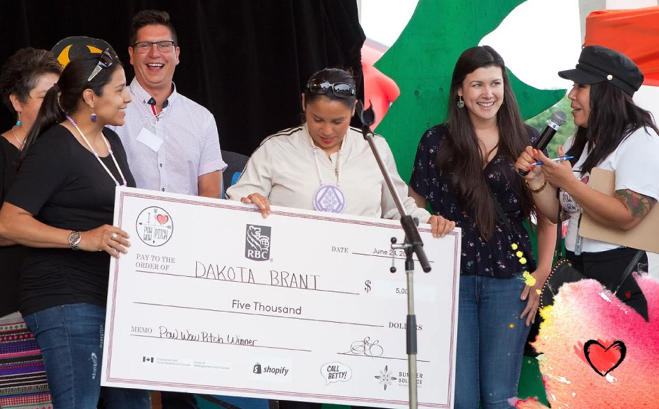 Pow Wow Pitch Competition 2021 for Indigenous Entrepreneurs Across Turtle Island ($50,000 CAD in prizes)