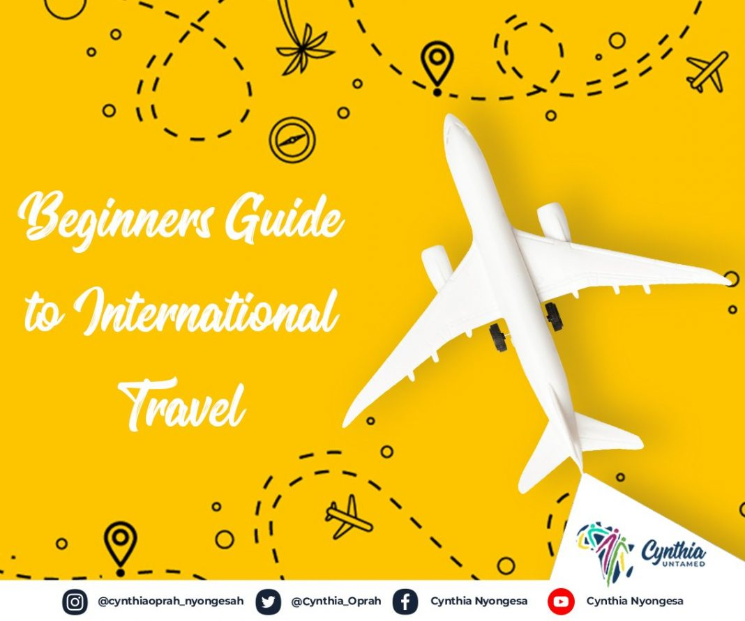 Beginners Guide to International Travel by Cynthia Untamed