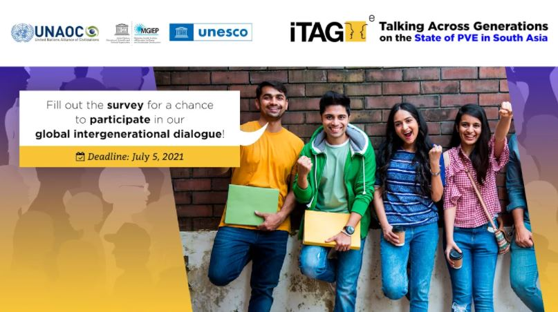 UNAOC Call for Youth Contributions to the State of PVE-E Report in South Asia Survey