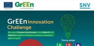 GrEEn Innovation Challenge 2021 for Ghanaian entrepreneurs and green SMEs.