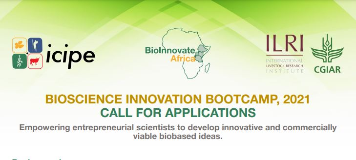 Bioscience Innovation Bootcamp 2021 for Entrepreneurial Scientists in Central and Eastern Africa