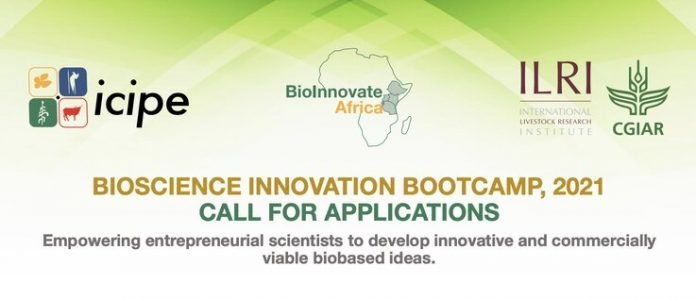 Bioscience Innovation Bootcamp 2021 for Entrepreneurial Scientist in Eastern and Central Africa.