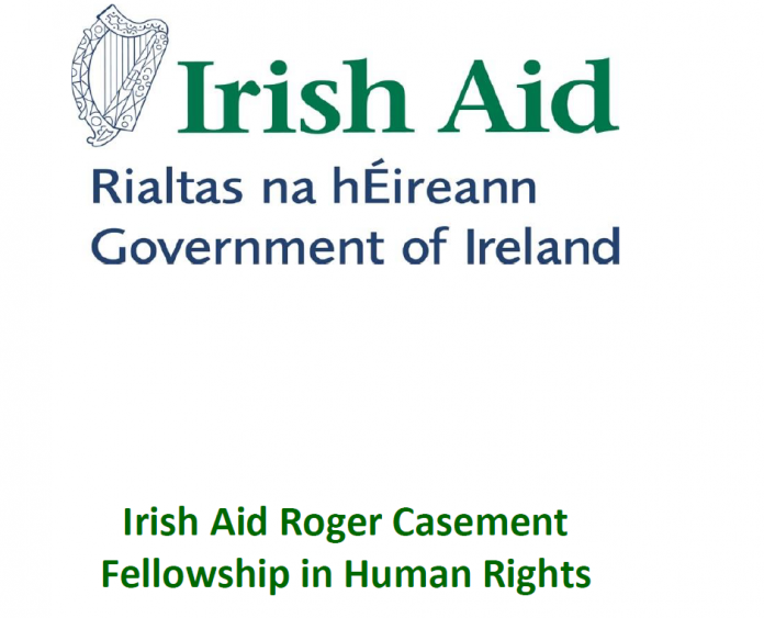 2022/2023 Irish Aid Roger Casement Fellowship in Human Rights (Fully Funded to study in Ireland)