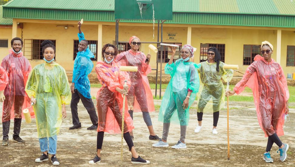 LEAP Africa Youth Day of Service in Commemoration of International Youth Day 2021