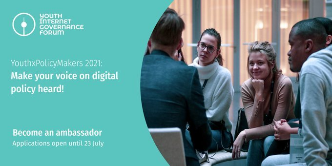 Youth Internet Governance Forum Call for Participation: YouthxPolicyMakers Program 2021