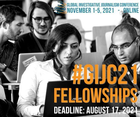 The 12th Global Investigative Journalism Conference Fellowship for Journalists.