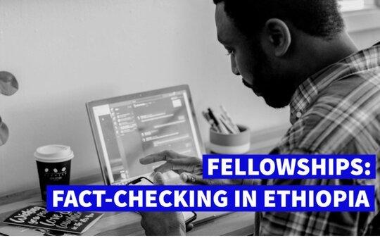 Code for Africa (CfA) Fact-Checking Fellowship 2021 for Ethiopians & Kenyans.
