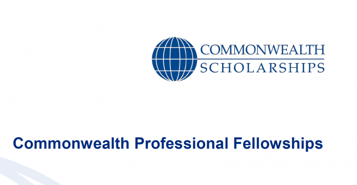 Commonwealth Professional Fellowships 2021/2022 for Mid-Career Professionals to Study in the United Kingdom (Fully Funded)