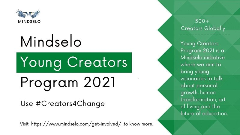 Call for Video Submissions: Mindselo Young Creators Program 2021