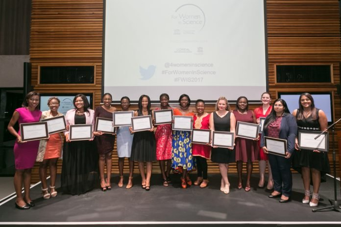 The L'Oréal-UNESCO Young Talents for Women in Science program 2021