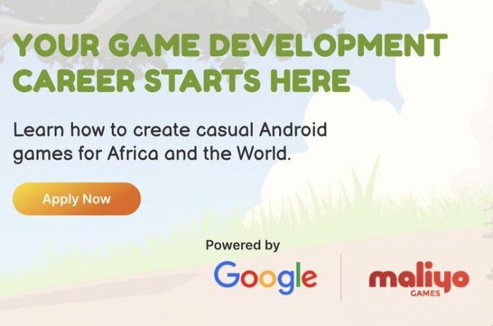 Maliyo Games/Google Game Developer Bootcamp 2021 for beginner African Mobile Game Developers.