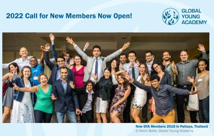 Global Young Academy 2022 Call for New Members