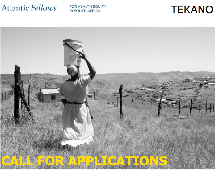 Atlantic Fellows for Health Equity in South Africa Based at Tekano Leadership Development Opportunity