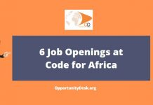 6 Job Openings at Code for Africa