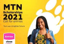 MTN Foundation Scholarship Scheme 2021 for young Nigerian Students