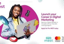 Pre-MEST Digital Marketing Training Program 2021 for young Ghanaians.