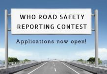 The World Health Organization (WHO)/ICFJ Road Safety Reporting Contest 2021