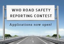 World Health Organisation (WHO) Road Safety Reporting Contest 2021