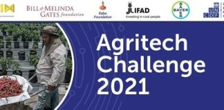 The UN Capital Development Fund (UNCDF) Agritech Challenge 2021 for agritech and agri-fintech startups.