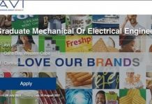 I&J AVI  Electrical/Mechanical Engineering Graduate Programme 2021 for young South Africans.