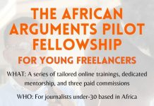 African Arguments Fellowship 2021 for Freelance Journalist