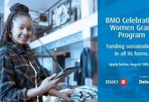 BMO Celebrating Women Grant Program 2021 for Women-led Businesses in Canada (Up to $10,000 CAD)