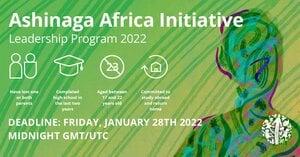 Ashinaga Africa Initiative Leadership Program 2022 (Fully Funded to study abroad)
