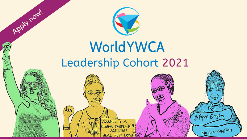 World YWCA Young Women Leadership Cohort Program 2021 (Stipend available)