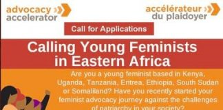 The Heinrich Böll Foundation Advocacy Accelerator Programme 2021 for young feminists in Eastern Africa.