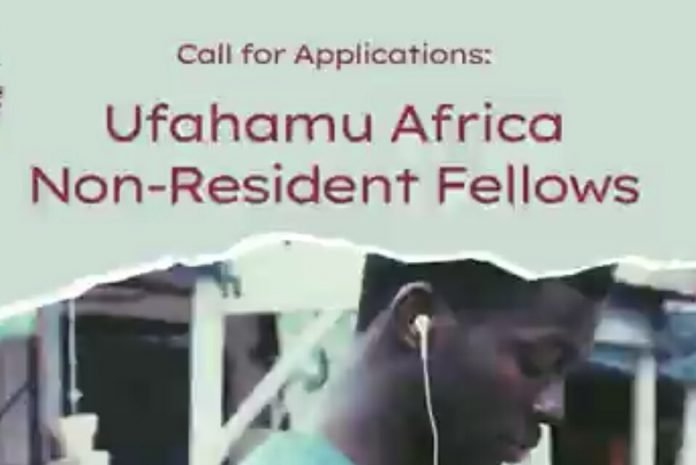 Ufahamu Africa Non-Resident Fellowship 2021 for researchers, journalists, practitioners, and podcasters.
