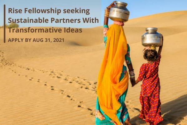 RISE Fellowship Program 2021 for Female Entrepreneurs