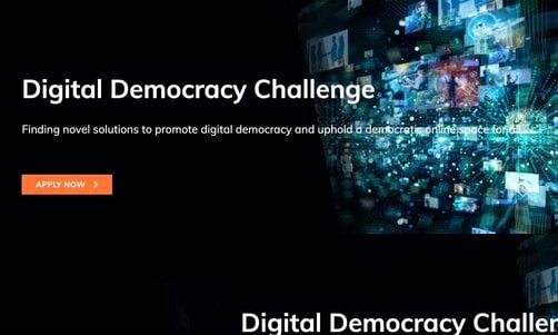 Seedstars Digital Democracy Challenge 2021 for young creatives.