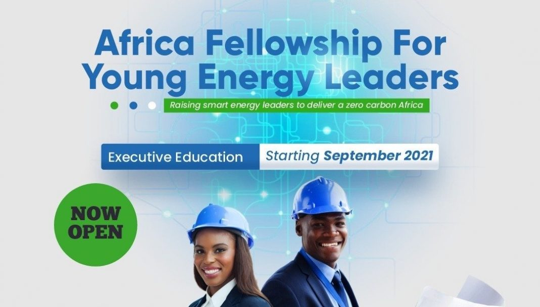 Africa Fellowship for Young Energy Leaders – AFYEL 2021 (fully-funded)