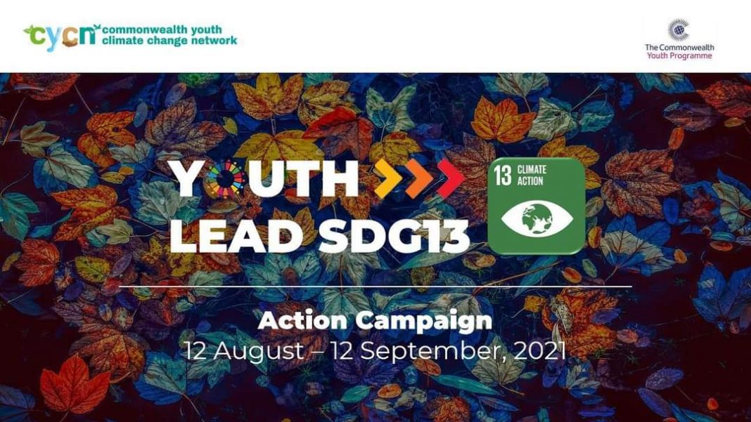 The Commonwealth Youth Climate Change Network (CYCN) #YouthLeadSDG13 Action Challenge 2021