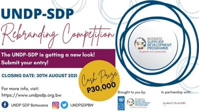 UNDP SDP Rebranding Competition 2021 for young Botswana