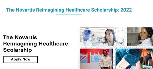 Novartis Reimagining Healthcare Scholarship to attend One Young World Summit 2022 (Fully Funded to Tokyo, Japan)