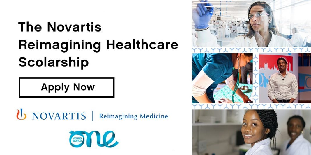 Novartis Reimagining Healthcare Scholarship to Attend One Young World Summit 2022 (Fully-funded to Tokyo)