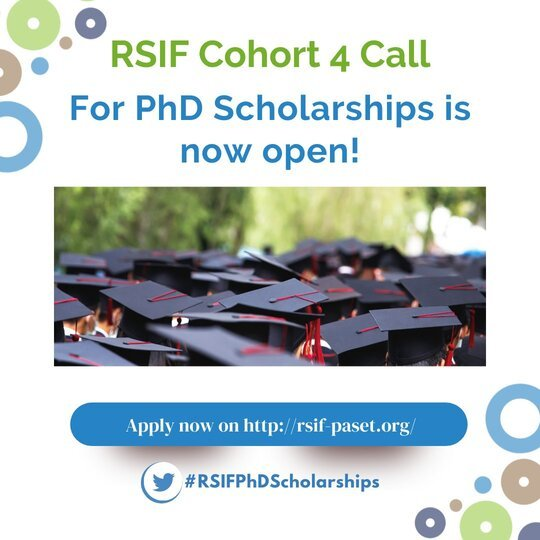 TheRegional Scholarship and Innovation Fund (RSIF) PhD Scholarships (Fully Funded)