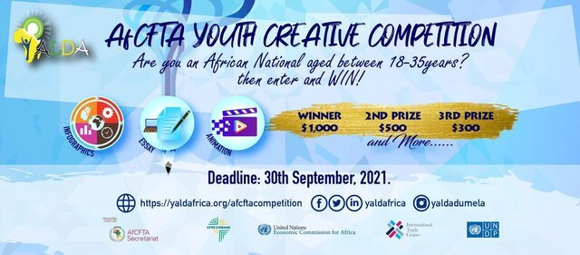 AfCFTA Youth Creative Competition – Umoja Africa Campaign for young Africans.