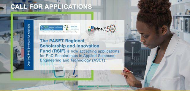 PASET Regional Scholarship and Innovation Fund (RSIF) PhD Scholarship 2021/2022