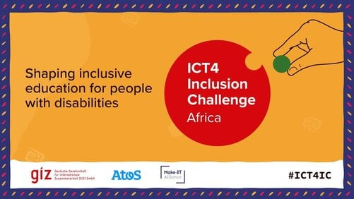 ICT 4 Inclusion Challenge Africa Edition for  inclusive education in Africa! (€10,000 Prize)