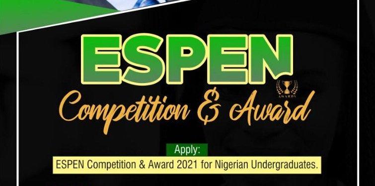 Lade-Win Initiative ESPEN Competition & Award 2021 for Nigerian Undergraduates