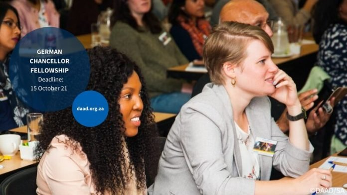 Alexander von Humboldt Foundation German Chancellor Fellowship Programme 2022 for emerging Leaders (Fully Funded to Germany)