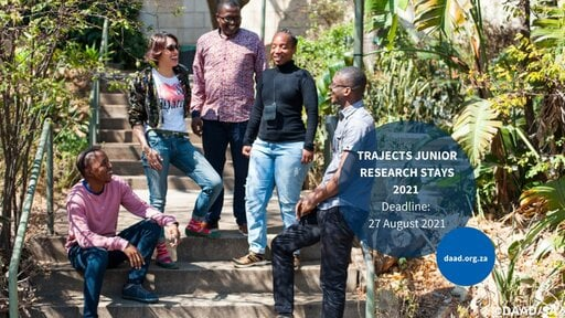 TRAJECTS Junior Research Stays 2021 for young researchers
