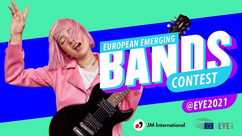 EYE European Emerging Bands Contest 2021 (€1,000 prize)