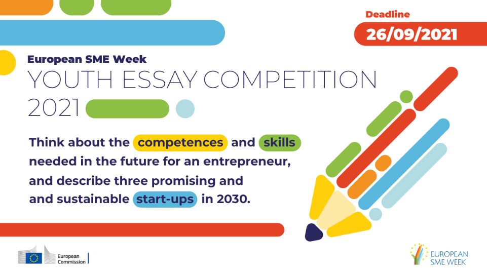European SME Week Youth Essay Competition 2021 (Win trip to the SME Assembly in Slovenia)